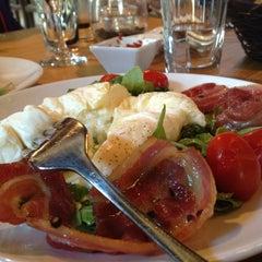 Photo taken at Carpaccio Trattoria by Elizabeth on 8/20/2012