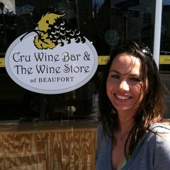 Photo taken at Cru Wine Bar by Trish A. on 3/25/2012