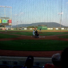 Photo taken at Medlar Field at Lubrano Park by Luke W. on 7/23/2012