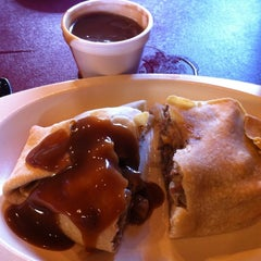 Photo taken at Mackinaw Pastie & Cookie Co. by Charlotte M. on 7/21/2012