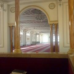 Photo taken at Grey Street Mosque by Sukru k. on 8/1/2012