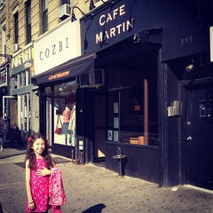 Photo taken at Café Martin by Jonathan B. on 5/31/2012