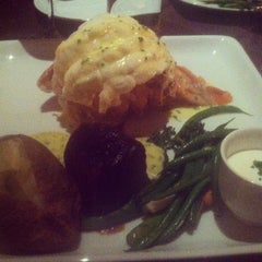 Photo taken at Barona Steakhouse by Hannah S. on 2/13/2012