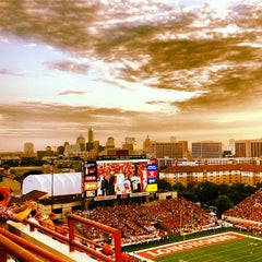 Photo taken at Darrell K. Royal-Texas Memorial Stadium by Holly C. on 9/10/2012