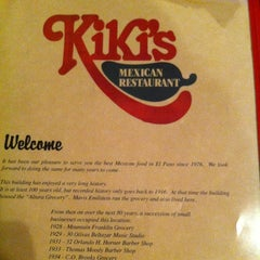 Photo taken at Kiki's Restaurant & Bar by Cgumbo on 6/24/2012