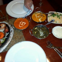 Photo taken at Bombay Bistro North by Jeff E. on 5/6/2012