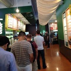Photo taken at Chop't Creative Salad Company by Felipe O. on 7/9/2012