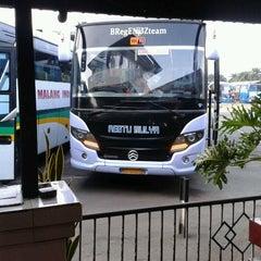 Photo taken at Terminal Arjosari by Galang Y. on 8/3/2012