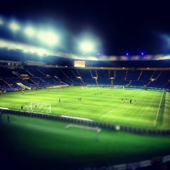 Photo taken at ОСК «Металіст» / Metalist Stadium by Андрей М. on 8/31/2012