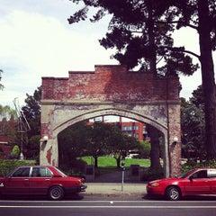 Photo taken at Sydney Walton Park by Eric P. on 4/25/2012