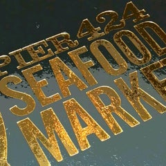 Photo taken at Pier 424 Seafood Market by Maria F. on 7/1/2012