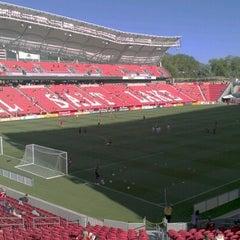Photo taken at Rio Tinto Stadium by chad on 6/21/2012