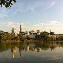 Photo taken at Новодевичий монастырь by Alex K. on 8/4/2012