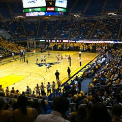 Photo taken at WVU Coliseum by Jeremy H. on 8/29/2012