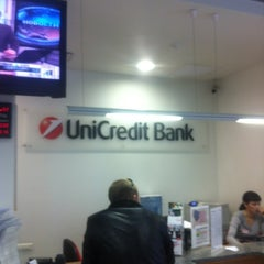 Photo taken at UniCredit Bank by Egor P. on 2/13/2012