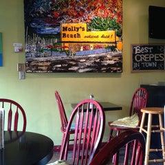 Photo taken at Trixi's Crepe & Coffeehaus by Winnie K. on 8/18/2012