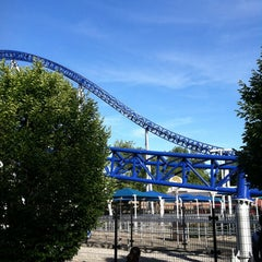 Photo taken at Millennium Force by Vincent L. on 6/13/2012