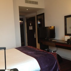 Photo taken at Clayton Hotel by Daniel H. on 8/15/2012