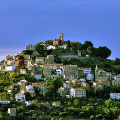 Photo taken at Motovun - Montona by Visit Istria on 6/14/2012