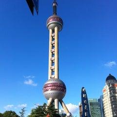 Photo taken at 东方明珠塔 | Oriental Pearl Tower by Ha Thu D. on 7/30/2012