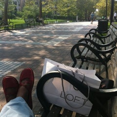 Photo taken at Locust Walk by barbara n. on 8/17/2012