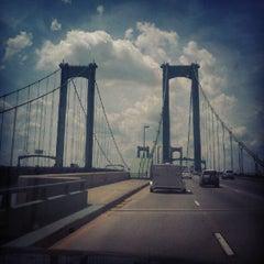 Photo taken at Delaware Memorial Bridge by Robb H. on 6/24/2012
