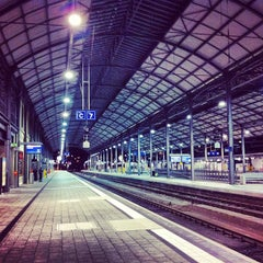 Photo taken at Bahnhof Olten by Katz U. on 9/3/2012
