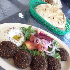 Photo taken at House of Falafel by Cheryl P. on 8/23/2012