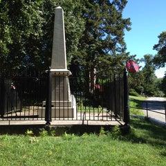 Photo taken at J.E.B. Stuart Monument & Mortal Wounding Site by Michael H. on 6/26/2012