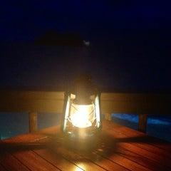Photo taken at Rocks Bar @ Vomo Island Resort by Kristin D. on 5/19/2012