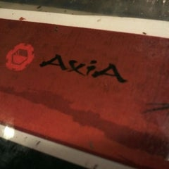 Photo taken at Axia Cafe by Ahsan S. on 2/12/2012