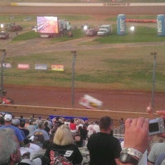 Photo taken at The Dirt Track at Charlotte Motor Speedway by Delcenia D. on 5/26/2012