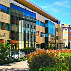 Photo taken at Szépvölgyi Business Park by Virág A. on 4/27/2012