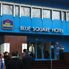 Photo taken at Best Western Plus Blue Square Hotel by Harm t. on 2/23/2012