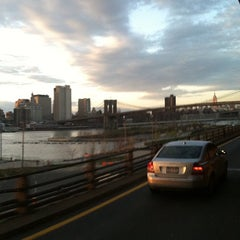 Photo taken at Brooklyn/Queens Expressway (BQE) by Adonis Hill @. on 4/5/2012
