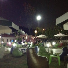 Photo taken at Saklı Bahçe Cafe&Nargile by Bilal B. on 8/5/2012