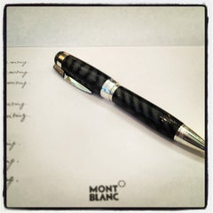 Photo taken at Montblanc Boutique by Chris D. on 3/31/2012