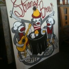 Photo taken at The Strange Brew by Matthew R. on 4/4/2012