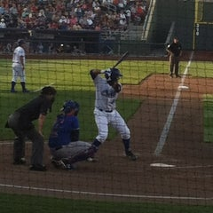 Photo taken at Werner Park by Aimee G. on 6/8/2012