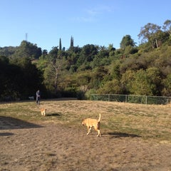 Photo taken at Laurel Canyon Dog Park by Charlie M. on 7/22/2012
