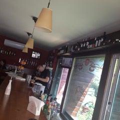 Photo taken at Brick Cafe by Ivan B. on 8/7/2012