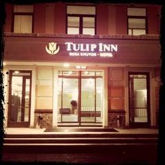 Photo taken at Tulip Inn Rosa Khutor by Matyukhin E. on 2/4/2012