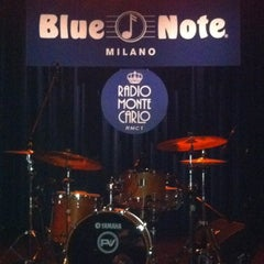 Photo taken at Blue Note Milano by Rossana R. on 3/1/2012