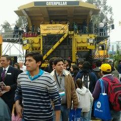 Photo taken at Espacio Riesco - Expomin 2012 by Wilson A. on 4/13/2012
