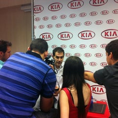 Photo taken at Kia Motors Iberia by Estefania V. on 7/12/2012