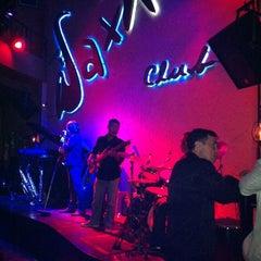 Photo taken at Saxn'art Jazz Club by Rowena L. on 4/28/2012