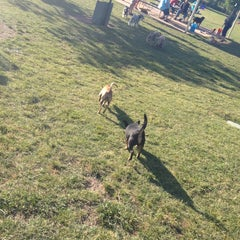 Photo taken at Fort Woof Dog Park by Stephanie S. on 4/22/2012