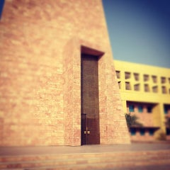 Photo taken at Texas A&M University at Qatar | جامعة تكساس إي أند أم في قطر by Abdulaziz A. on 2/6/2012