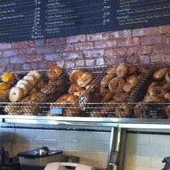 Photo taken at Olde Brooklyn Bagel Shoppe by Cassel K. on 2/4/2012
