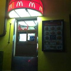 Photo taken at McDonald's by Evgeniya G. on 3/12/2012